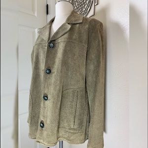The Territory Ahead Womens Suede Jacket